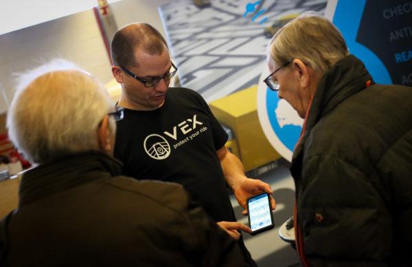 vex-bike gps tracker beveiliging fiets via smartphone
